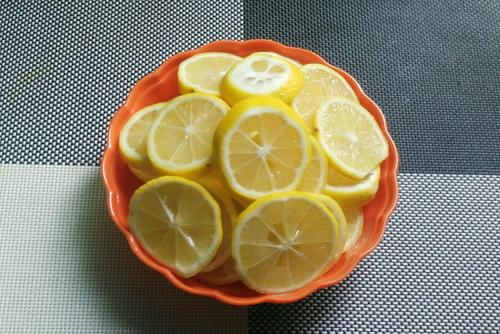 水晶柠檬片