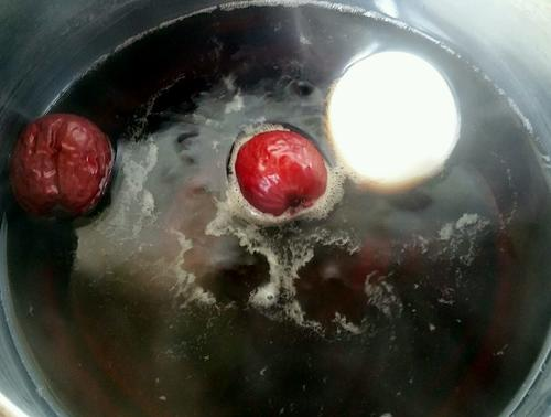 鸡蛋红糖水