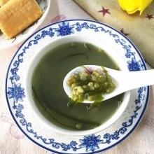 海带绿豆糖水
