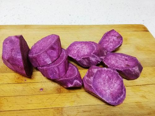 懒人甜品 酸奶紫薯