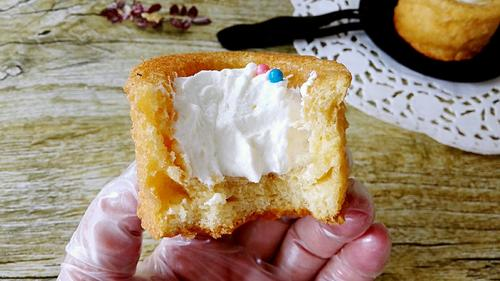 杯子奶油蛋糕