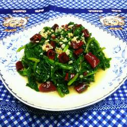 蒜蓉茼蒿菜